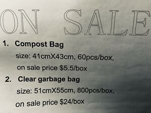 On Sale-new garbage bag