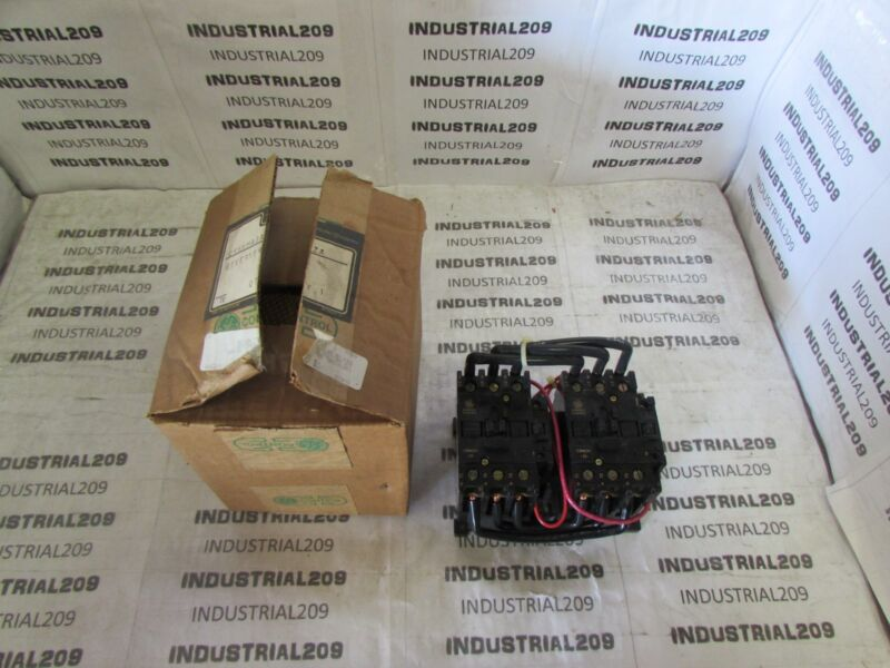 GENERAL ELECTRIC REVERSING CONTACTOR CR4CH NEW IN BOX
