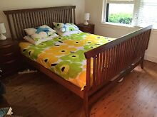 Wentworth Brand King Size Timber Bed Hunters Hill Hunters Hill Area Preview