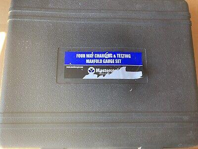 New Mastercool Four Way Charging Testing Manfold Guage Set 95161-g