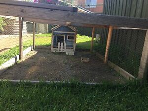 Large rabbit hut cage Epping Whittlesea Area Preview