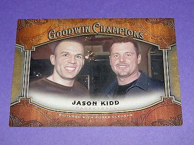 2014 Goodwin Champions JASON KIDD #120b Roger Clemens Variant - Dallas MAVERICKS