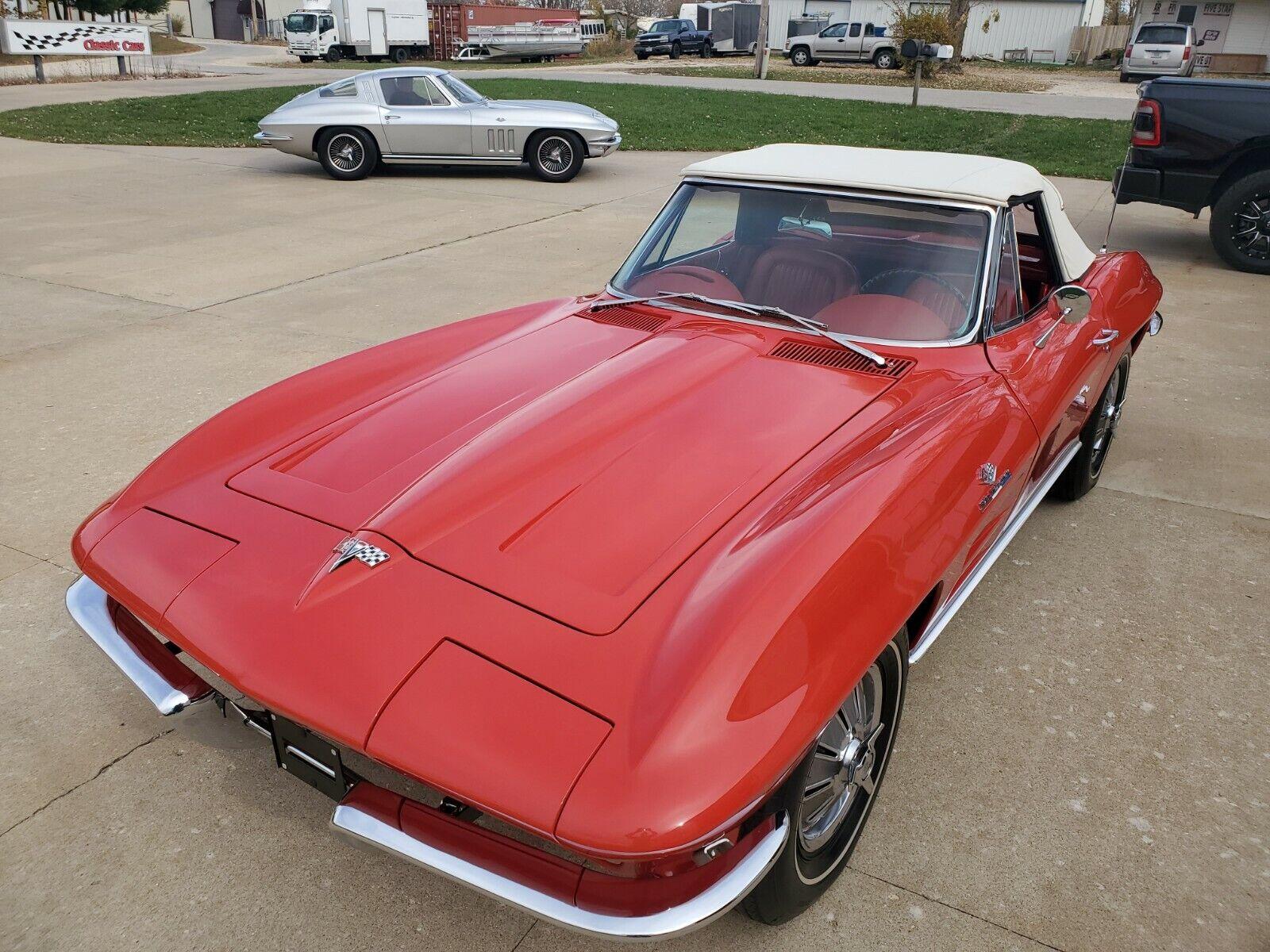 1964 RIVERSIDE RED Chevrolet Corvette   | C2 Corvette Photo 1
