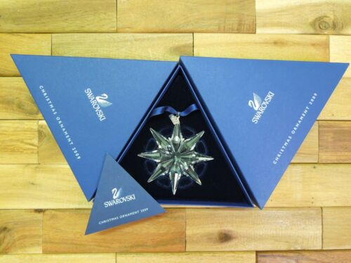 SWAROVSKI 2009 LARGE CHRISTMAS HOLIDAY ORNAMENT