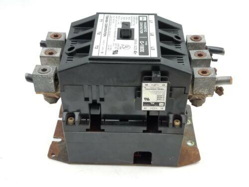 Toshiba C-180E Magnetic Contactor NEMA 4+ 150HP 3PH 600V C180E Used Surplus