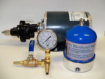 Wvo 55 Gph Oil Centrifuge Motor Package