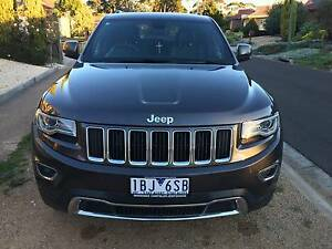 2014  Jeep Grand Cherokee Limited MY14 Hoppers Crossing Wyndham Area Preview