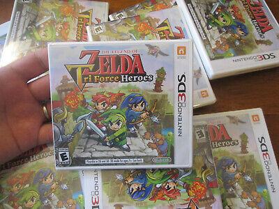 Legend of Zelda: Tri Force Heroes  Nintendo 3DS AUTHENTIC US EDITION SEALED NEW comprar usado  Enviando para Brazil