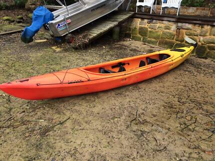 Kayak DAG Freeland Double Excellent Condition Caringbah Sutherland Area Preview