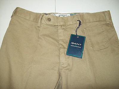 Gant by Michael Bastian Cotton Newbury Pocket Chino Khaki Pants NWT 30 x 34 $250