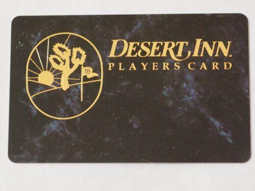 DESERT INN Resort & Casino LAS VEGAS PLAYERS CARD CLUB CARD