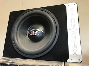 "Rockford fosgate 15"" subwoofer with amp"
