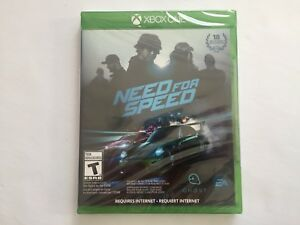 NEED FOR SPEED XBOX ONE!!! BRAND NEW!!!