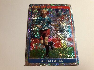 ALEXI LALAS USA PADOVA Figurina Laminata SuperCalcio 1994/95 n°213 new