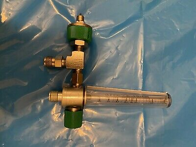 Precision Medical Oxygen Flowmeter 1-15l Ohmeda Male Fitting