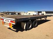Krueger ST2 Bogie Axle Flat Top Semi Trailer.3 way container pins Inverell Inverell Area Preview