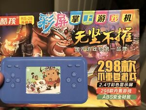 Handheld game system 298 games