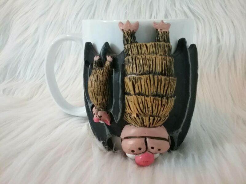 Kartchner Caverns State Park Bats Hanging Upside Down Tea Coffee Mug Cup
