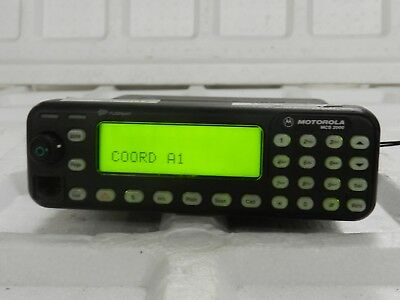 Motorola Mcs2000 Iii Flashport Two-way Radio M01hx832w