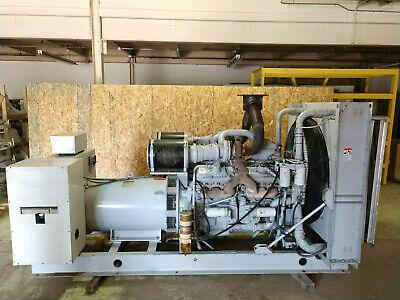 Detroit 600kw 480v 240v 208 5060hz 380 Twin Turbo Diesel Generator Tested 500kw
