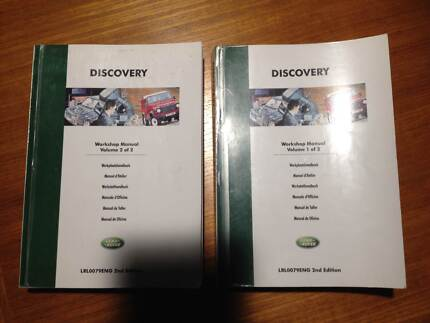 LandRover Discovery Workshop Manual Kaleen Belconnen Area Preview