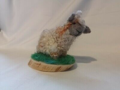 Handmade From The Furtlery Sheep Needle Felted Sculpture Gift