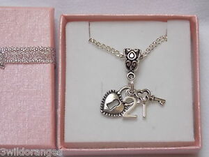 16th-18th-21st-Birthday-Age-Milestone-Lock-Key-Charm-Necklace-Gift-Boxed