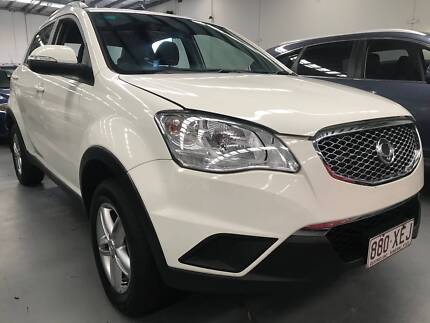 2013 Ssangyong Korando Automatic SUV Ascot Brisbane North East Preview