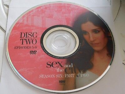 Sex And The City Sixth Season 6 Part 2 Disc 2 DVD Disc Only 48-86 - Part City