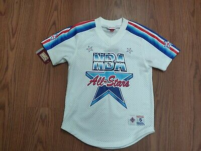 NWT MITCHELL & NESS NBA ALL STAR 91 JERSEY SHIRT Size small 60% off msrp