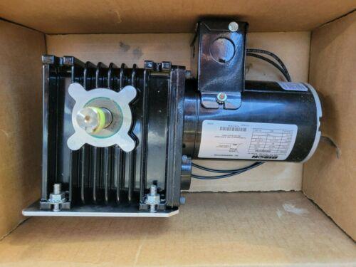 BISON 026-065-0745 AC GEARMOTOR 1/30-HP 208-230V 2.2-RPM 400-TORQUE RATIO 745:1