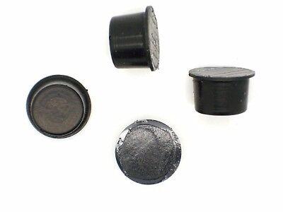 4x Gummifuß selbstklebend ca.ø15x10 (Gummifüße,Gerätefüße,Boxenfüße,Gehäusefüße)