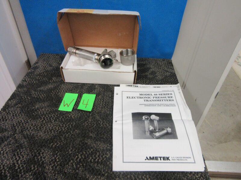 Ametek 88 L-3 Pressure Electronic Transmitter 30 Psi 88CX35 Military Part