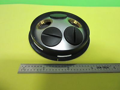 Microscope Part Nosepiece Ergolux Leitz Germany As Is Bine5-04