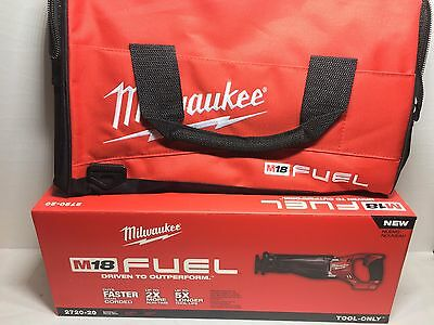 NEW 2720-20 W/ TOOL BAG Milwaukee M18 FUEL 18V Li-Ion Sawzall Recip Saw1