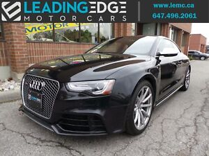 2014 Audi RS 5 4.2 CPO Audi extended Warranty until 160KM
