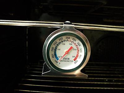 Stainless Steel Oven Cooker Thermometer Temperature Gauge Qu