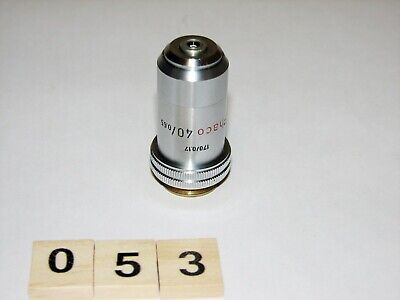 Leitz Ortholux Microscope Phaco 40x Objective For Phase Contrast Condenser