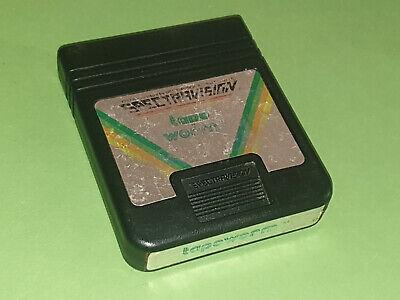 Tapeworm Atari 2600 VCS Game Cartridge - Spectravision
