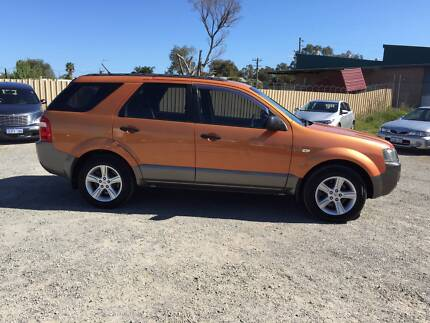 2004 Ford Territory 4x4 Wagon Silver Sands Mandurah Area Preview