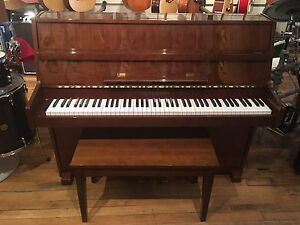 Young Chang Studio Piano walnut . Back to Lessons Sale!