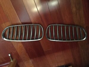 Kidney grills and lower bumper grill 03-07 bmw z4