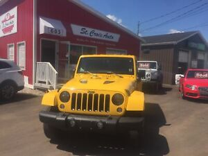 2015 Jeep WRANGLER UNLIMITED Unlimited MOAB edition !! must see