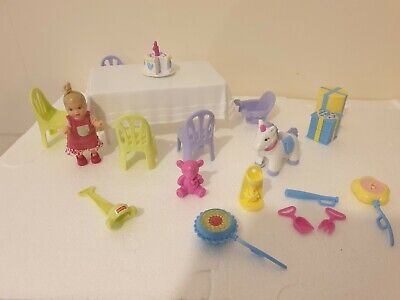 Vintage Barbie Happy Family 1st Birthday Playset &  Rare Krissy Toddler Doll
