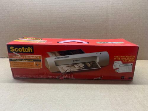 Scotch Thermal Laminator plus 2 Letter Size Pouches TL901C