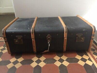 Vintage Storage Travel Trunk Chest
