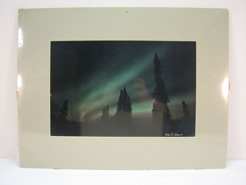 Aurora Borealis And Ursa Major Signed Photograph By Carl R Sams II AUA