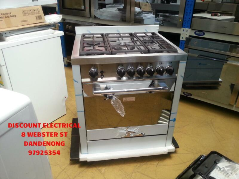 TECNOGAS H765FGVX 70CM 5 BURNER HEAVY DUTY STAINLESS STEEL GAS UP ...