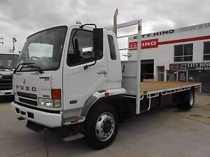 2007 Mitsubishi Fuso Fighter 10 Tray top, Only 38,000KM's Old Guildford Fairfield Area Preview