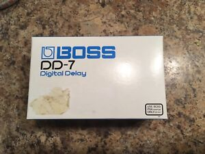 Boss DD-7 delay pedal - DD7